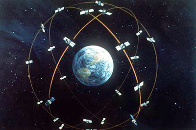 Navstar Satellite Orbit 