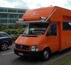 SatNav Mapping Van